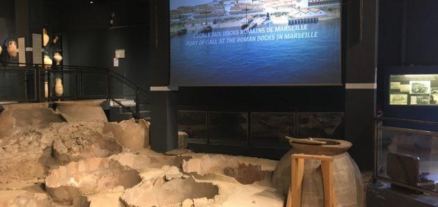 Escale aux Docks romains de Marseille