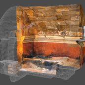 Restituer l'invisible. Une exceptionnelle tombe peinte du Ier siècle avant notre ère restituée en 3D.