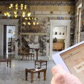 Une tablette tactile de médiation à la villa Kérylos