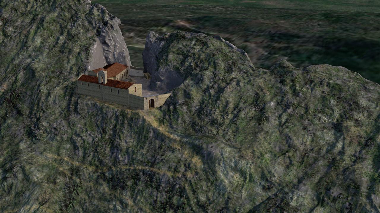 Animations 3D pour le prieuré de Sainte-Victoire