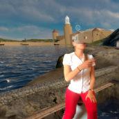Visite virtuelle immersive d'un vivier romain